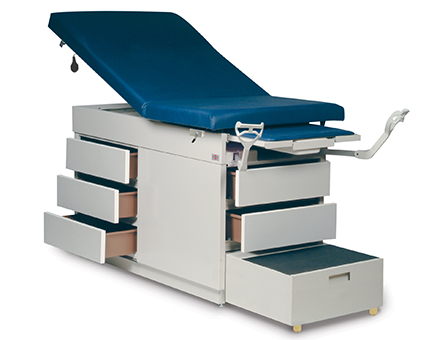 4412 Gas Spring Back Exam Table