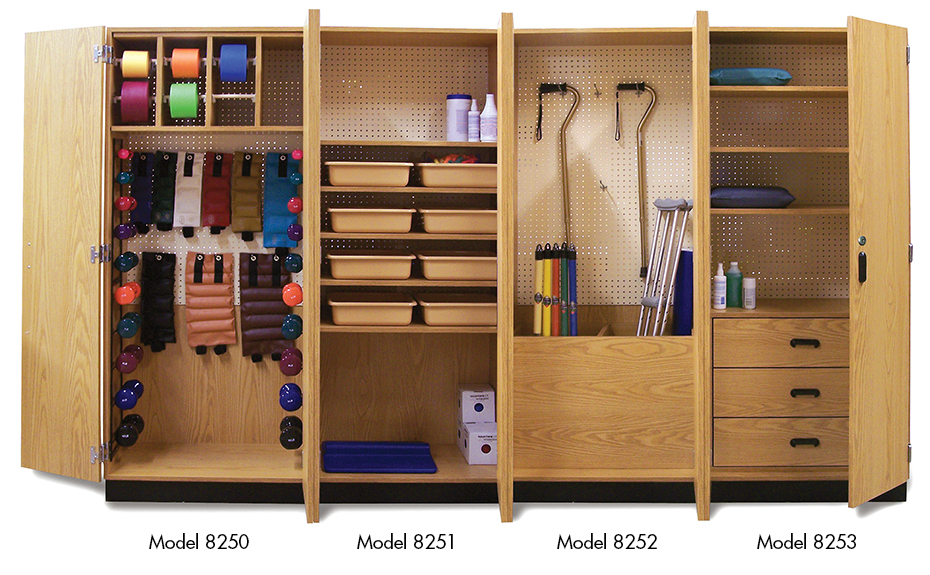 Thera-Wall Therapy Storage System